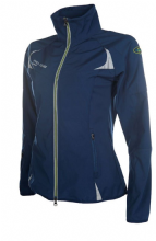HKM NEON COLLECTION - NAVY  SOFT SHELL JACKET - RRP £59.99 (1)